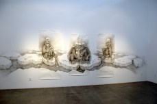 ADONNA KHARE. Between the Lines at Lora Schlesinger Gallery. Photo Credit Kristine Schomaker