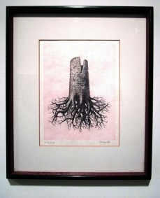 Rene Magritte / 'The Tree'. Photo Credit Patrick Quinn