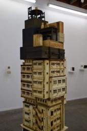 Akihiro Yasugi. Bullet (p)roof • artificial interference. George Billis Gallery. Photo Credit Kristine Schomaker