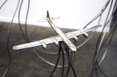 Naohiko Onodera. Bullet (p)roof • artificial interference. George Billis Gallery. Photo credit Kristine Schomaker