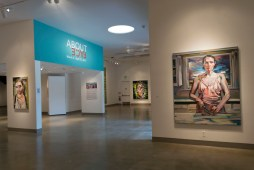 About Face. Kellogg University Art Gallery. Photo Courtesy of the Gallery.