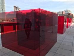 Larry Bell. 2017 Whitney Biennial. Whitney Museum of American Art, New York City, New York. Photo Credit Mario Vasquez.