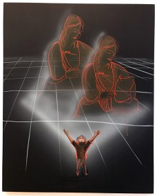 Tala Madani. Babeless, 2017. 2017 Whitney Biennial. Whitney Museum of American Art, New York City, New York. Photo Credit Mario Vasquez.