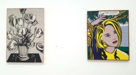 Roy Lichtenstein. The Broad. Photo Credit Kristine Schomaker