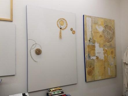 Adrienne DeVine. Claremont Graduate University MFA Open Studios. Photo Credit Jacqueline Bell Johnson.