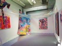 Femuorescent, Collaboration, Dixie Lyn Boswell, Chelsea Boxwell, Dakota Noot. Claremont Graduate University MFA Open Studios. Photo Credit Jacqueline Bell Johnson.