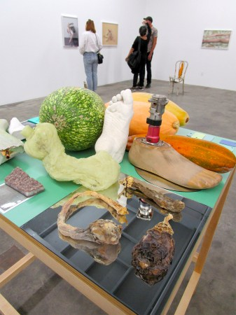 Heather Rasmussen - Untitled (Work table #2). ACME Gallery. Photo Credit Patrick Quinn.