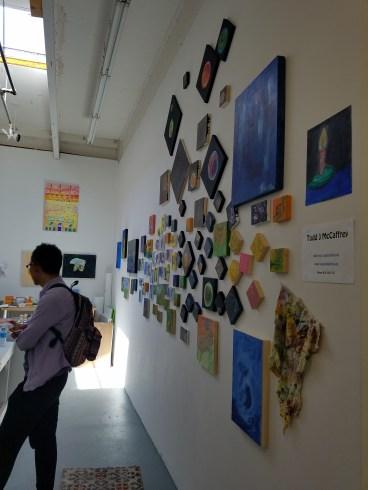 Todd J. McCaffrey. Claremont Graduate University MFA Open Studios. Photo Credit Jacqueline Bell Johnson.