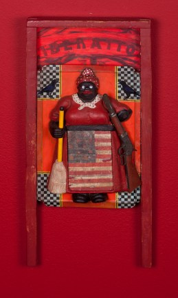Betye Saar: Keeping it Clean. Craft and Folk Art Museum. Betye Saar, 2015. Museum De Domijnen, Sittard, NL. Courtesy of the artist and Roberts & Tilton, Los Angeles, CA.