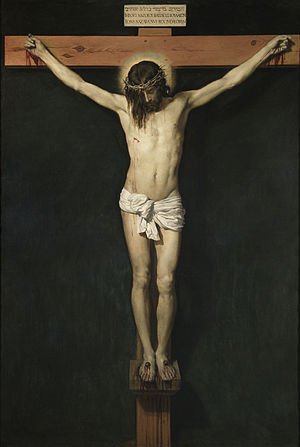 Velázquez, Christ Crucified / Ukrzyżowanie, 1632 (photo source: Wikipedia)