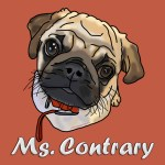 Ms. Contrary Zazzle store button. Click to visit and shop.