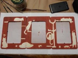rust paint background