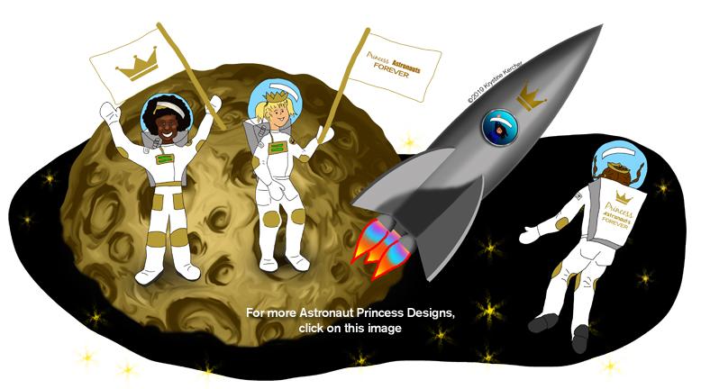 More astronaut princess designs - click here