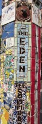 The Eden, East Village, NYC - by The Mosaic Man
