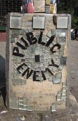 Public Enemy - by The Mosaic Man, NYC