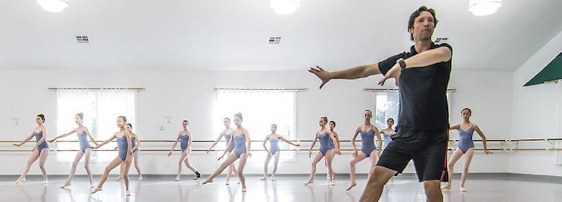 """Alex, a Ballet Master with PD, Starts """"Parkinson's on the Move"""" Program"""