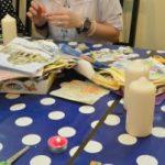 Atelier de Paște: decoupage pe ceara