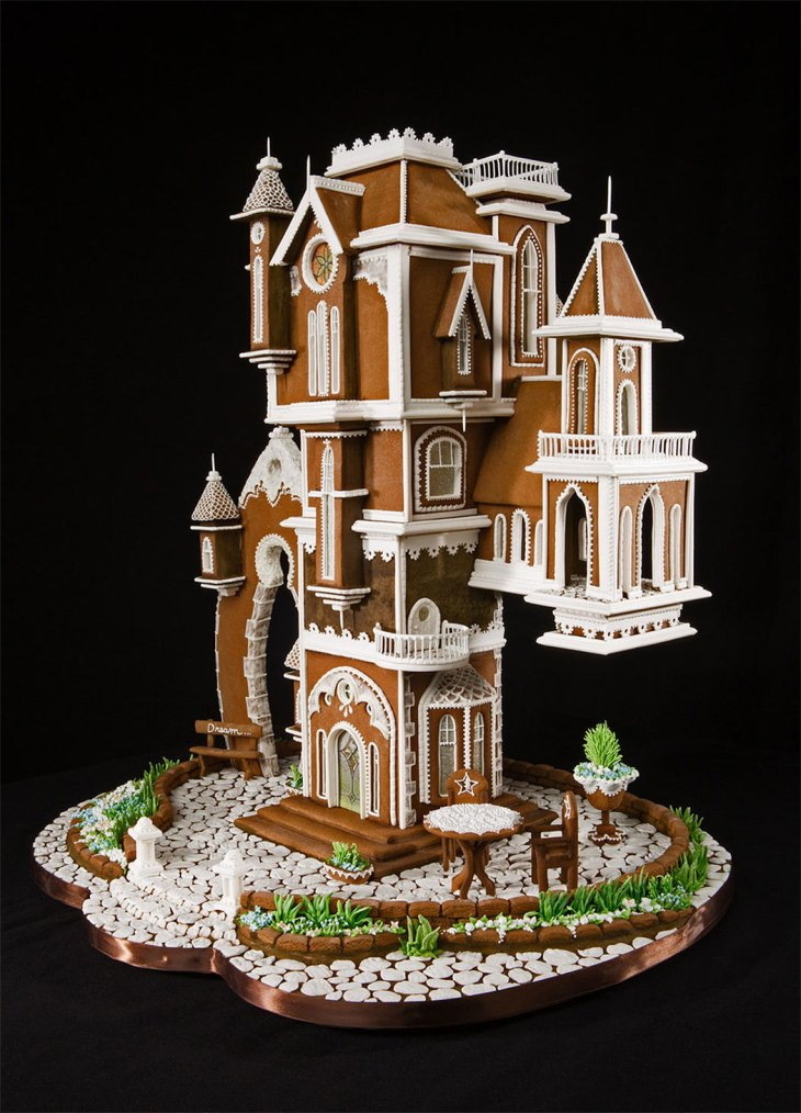 Grand Prize Winning Victorian Gingerbread Mansion