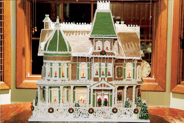 Wonderful Victorian Gingerbread House