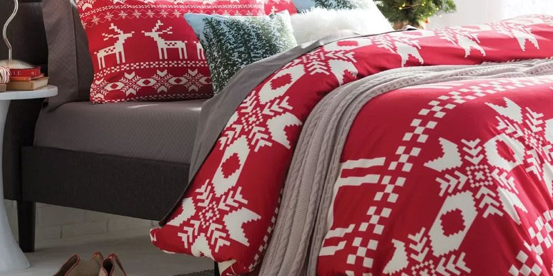 Quick & Easy Christmas Bedroom Decor Makeover