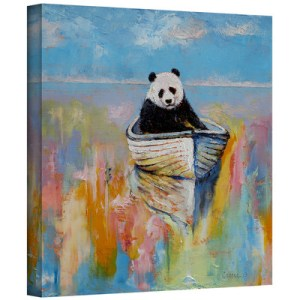 Panda by Michael Creese Art Print on Gallery Wrapped Canvas