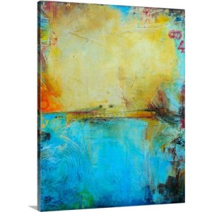 Deck 84 by Erin Ashley Art Print on Canvas