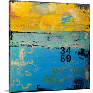 Uptown Fusion by Erin Ashley Art Print on Canvas