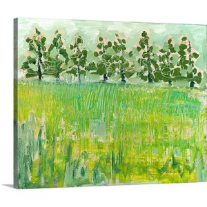 Across the Meadow by Jennifer Lommers Art Print on Canvas