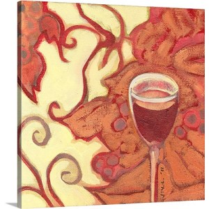 Indulgence by Jennifer Lommers Art Print on Canvas