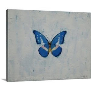 Butterfly by Michael Creese Art Print on Canvas
