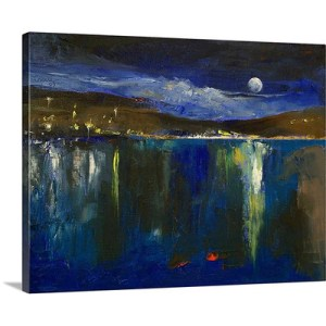 Blue Nocturne by Michael Creese Canvas Art Print