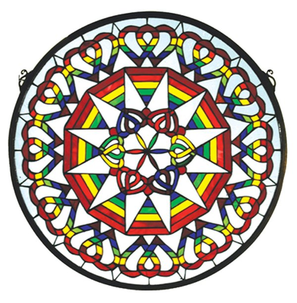 """Rainbow Expression Medallion 