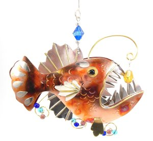 Anglerfish Decor Ornament