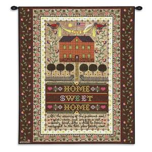 "Charles Wysocki Home Sweet Home | 26"" x 34"" 