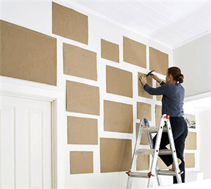 4 Easy Steps For Arranging Art & Photographs on Your Wall