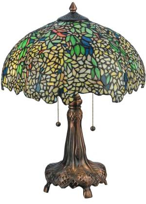 "21.5"" H Tiffany Laburnum Table Lamp"