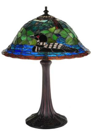 "18.75""H Loon Table Lamp"