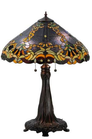 "27""H Baroque Vine Table Lamp"