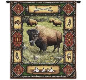 "Buffalo Lodge | 26"" x 34"""