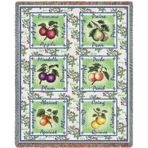 Alsacian Fruit | Woven Throw