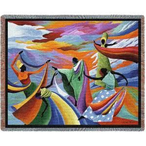 Skydancer Abstract | Throw Blanket