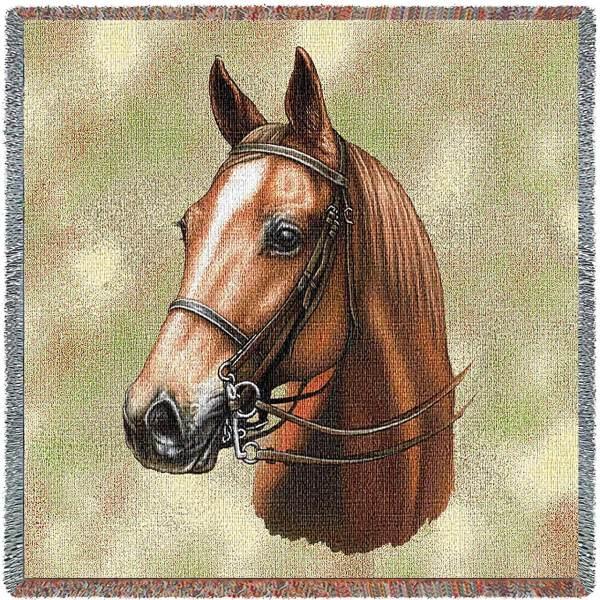 American Saddlebred Horses | Throw Blanket
