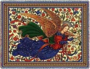 Celestial Sonnet | Christmas Throw Blanket | 70 x 53