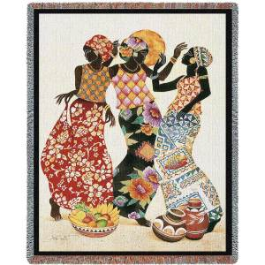 Jubilation | Tapestry Blanket | 54 x 70