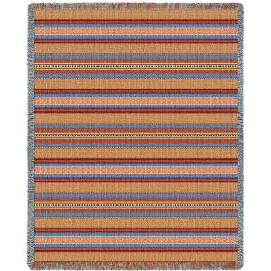 Saddleblanket Sky | Woven Throw Blanket | 54 x 70