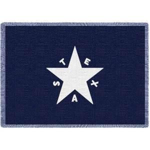 Texas Star Mini | Afghan Blanket | 35 x 48