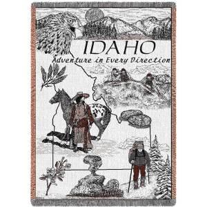 Idaho   Afghan Throw