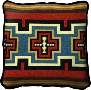 Sarkoy | Southwest Throw Pillow | 17 x 17