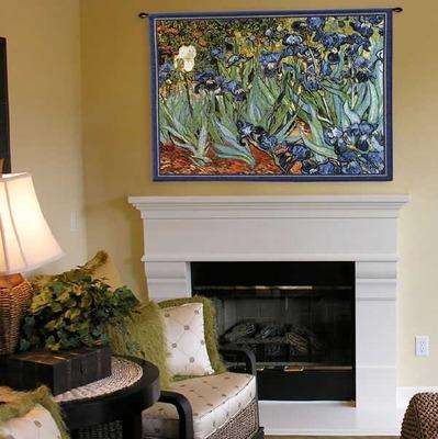 Van Gogh's Irises Tapestry Wall Hanging