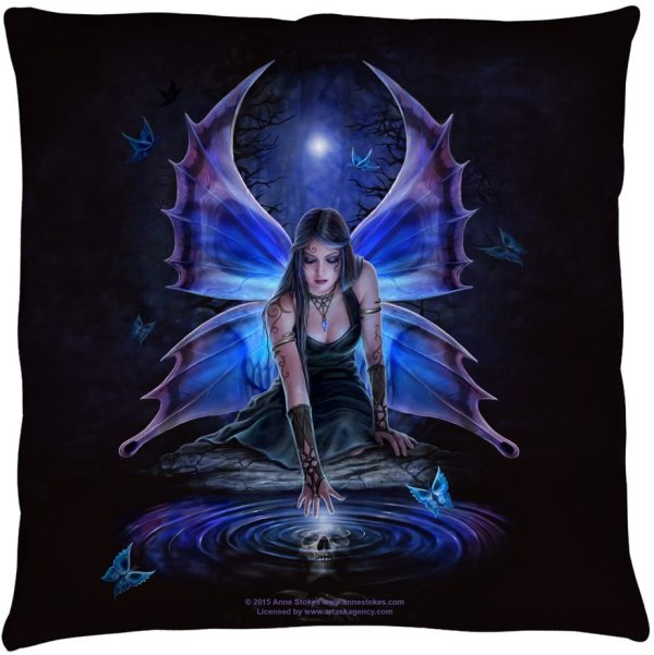 Anne Stokes Immortal Flight Throw Pillow